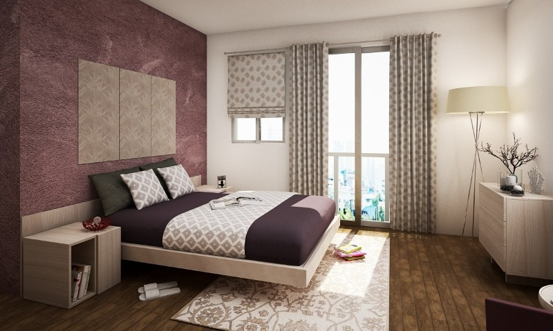 color palette The Perfect Color Palette For Your Master Bedroom purple