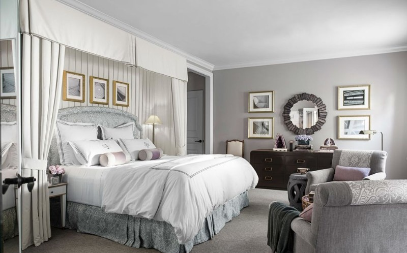 color palette The Perfect Color Palette For Your Master Bedroom silver Fotor