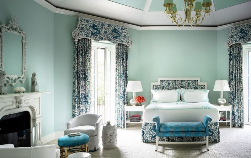 color palette The Perfect Color Palette For Your Master Bedroom tiffany blue  Fotor