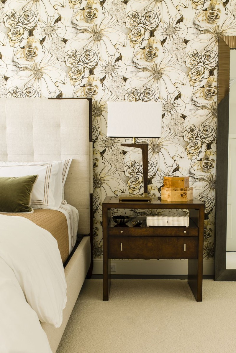 Statement Wallpapers To Revive Your Master Bedroom master bedroom Statement Wallpapers To Revive Your Master Bedroom 1 Statement Wallpapers To Revive Your Master Bedroom