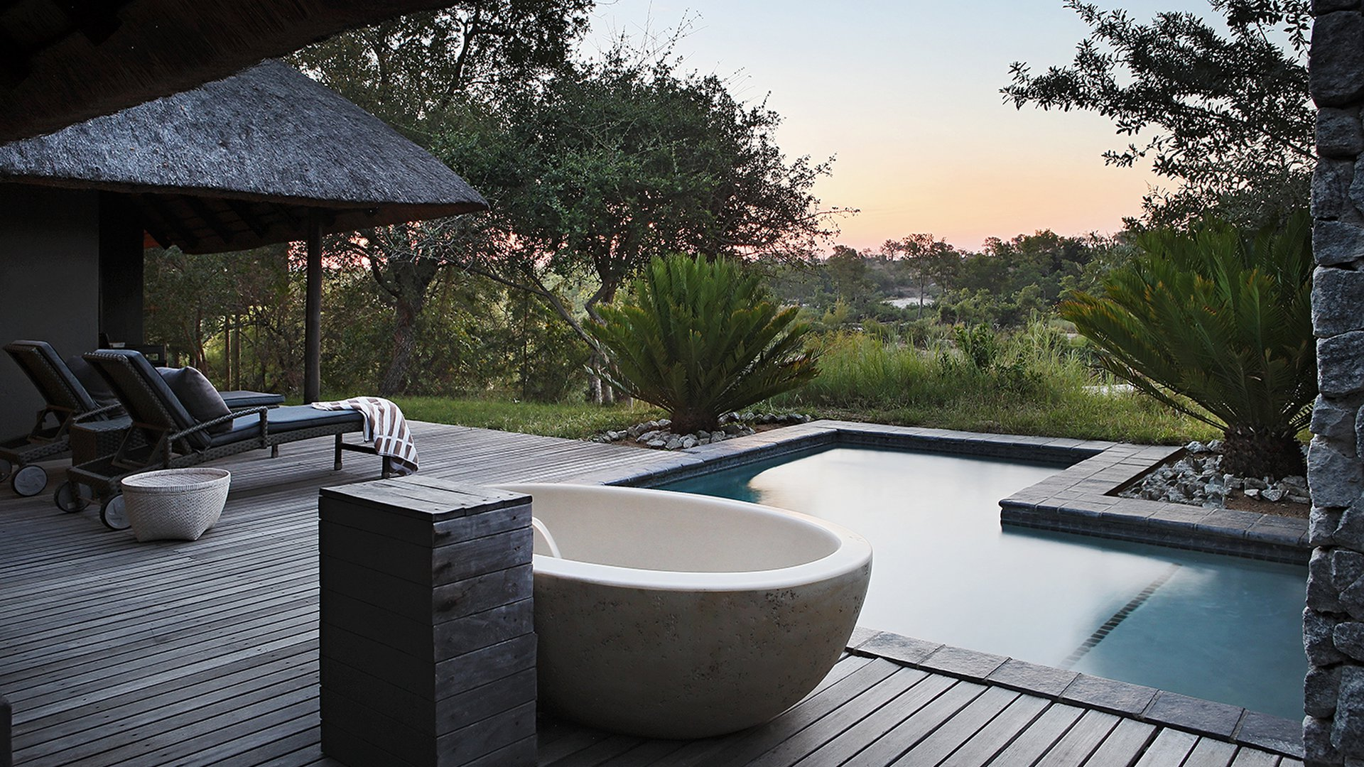 luxury lifestyle Luxury Lifestyle:  The Most Luxurious Hotel Rooms in Africa 10 GRANITE SUITES SABI SANDS GAME RESERVE SOUTH AFRICA