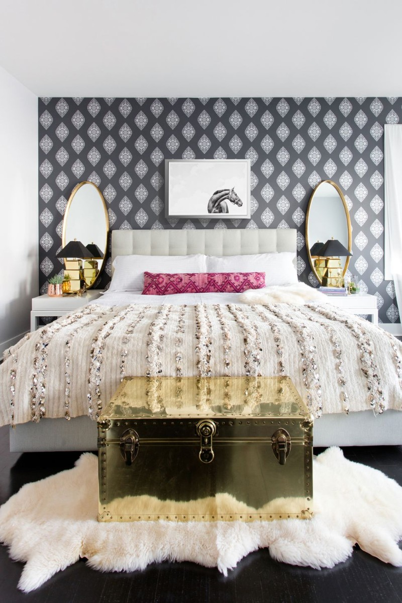 room design master bedroom Artisan Metal Work Furniture For Your Master Bedroom 12 Statement Wallpapers To Revive Your Master Bedroom
