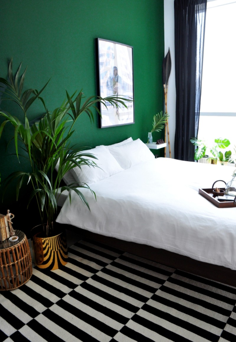 Refresh Your Bedroom Design With These Green Bedroom Ideas green bedroom ideas Refresh Your Bedroom Design With These Green Bedroom Ideas 3 Refresh Your Bedroom Design With These Green Bedroom Ideas