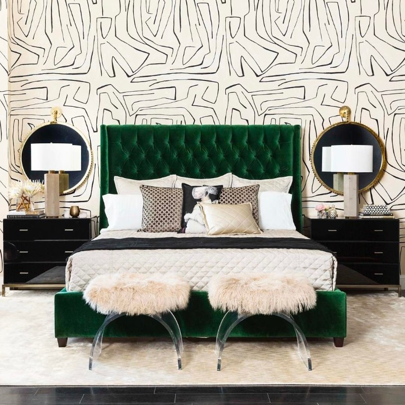 Refresh Your Bedroom Design With These Green Bedroom Ideas green bedroom ideas Refresh Your Bedroom Design With These Green Bedroom Ideas 4 Refresh Your Bedroom Design With These Green Bedroom Ideas