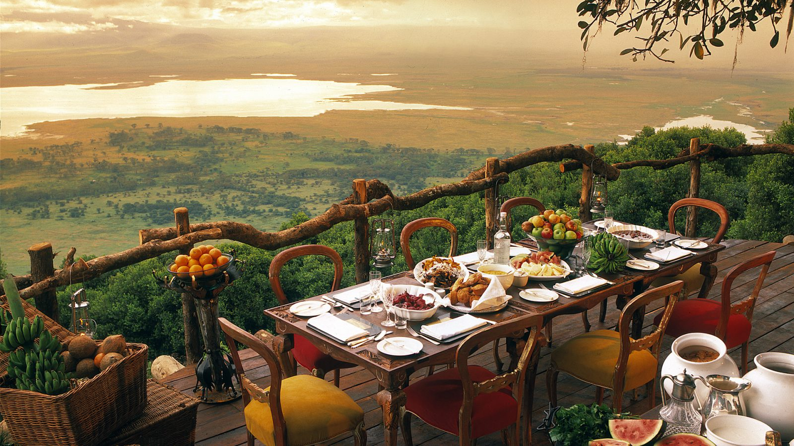 luxury lifestyle Luxury Lifestyle:  The Most Luxurious Hotel Rooms in Africa 6 NGORONGORO CRATER LODGE     TANZANIA