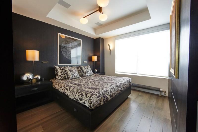 dark bedroom Dark Bedrooms Full of Finesse And Style Dark Bedrooms Full of Finesse And Style 5