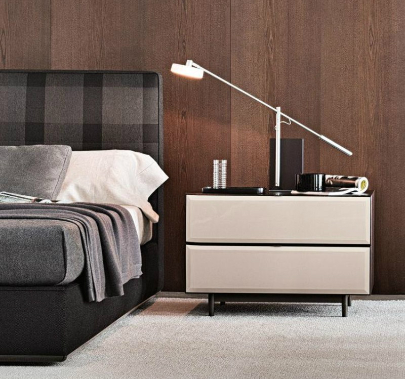 bedside tables, nightstand, master bedroom, bedroom ideas, interior decor, interior design, home decor ideas, luxury brand bedroom ideas Modern Bedroom Ideas For Dignified Nights Of Rest Morrison minotti