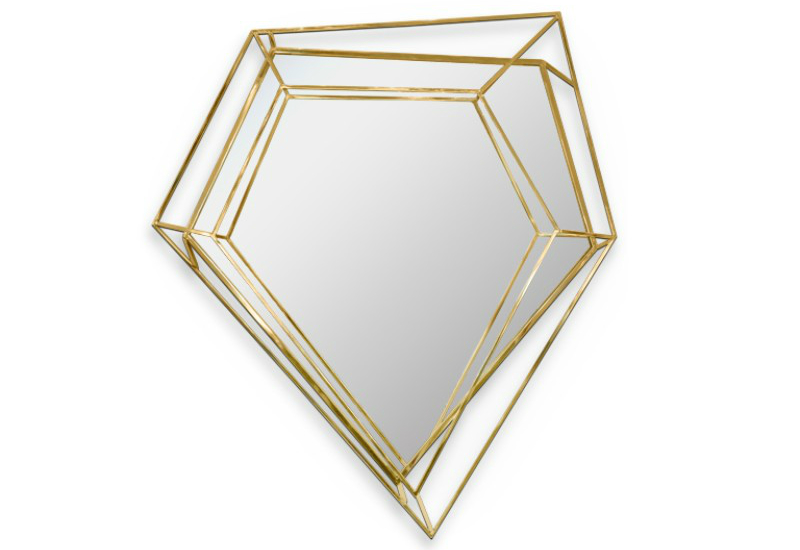 mirrors Let The Most Splendid Mirrors Add Fierceness To Your Bedroom diamond small mirror essentialhome