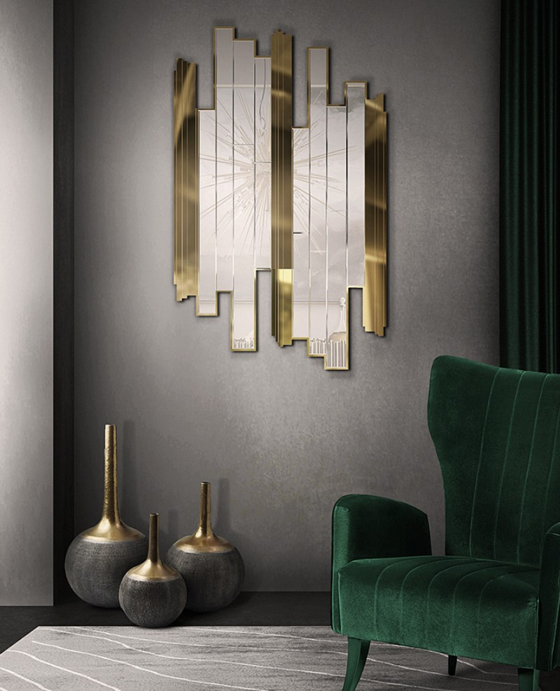 mirrors Let The Most Splendid Mirrors Add Fierceness To Your Bedroom empire mirror luxxu