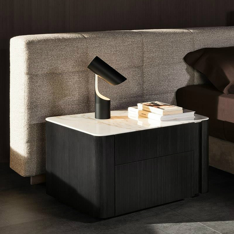 bedside table 10 Practical and Fabulous Bedside Table Ideas lou nightstand 2