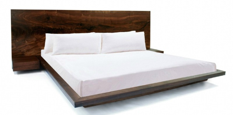 headboard ideas Top Headboard Ideas To Take Your Master Bedroom To Another Level walnut bed hudson furniture