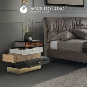 Frank Nightstand Boca do Lobo