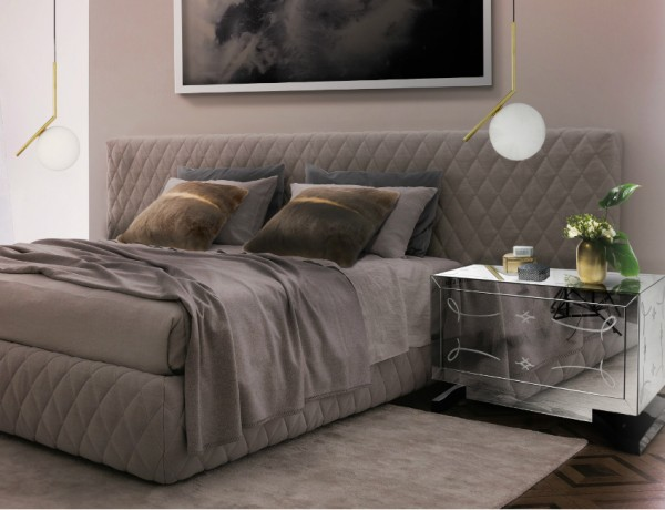 mirrored nightstands Mirrored Nightstands – A Special Touch For Your Master Bedroom Mirrored Nightstands A Special Touch For Your Master Bedroom 1 Copy 600x460