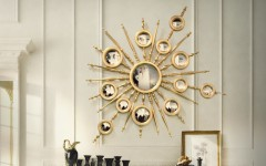 bedroom mirrors The Most Beautiful Gold Master Bedroom Mirrors mondrian 240x150
