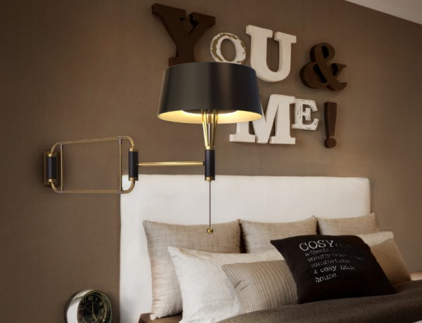 wall lights Wall lights: enchanted pieces to master bedroom decors feature image 600x460
