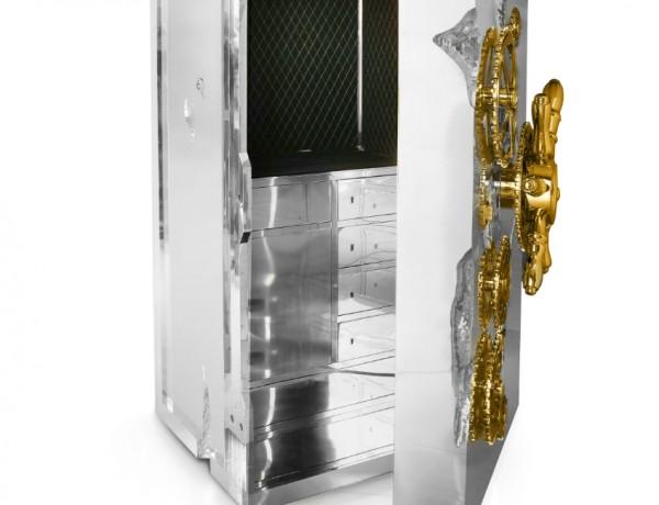 modern bedroom Timeless Luxury Safes For The Modern Bedroom millionaire silver2 600x460