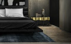 black bedrooms Stylish Black Bedrooms with Goth Glamour sinuous 4 240x150