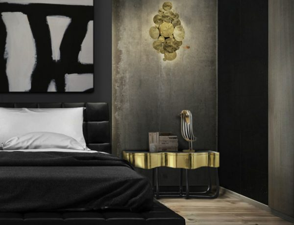black bedrooms Lavish Black Bedrooms for Gothic-Inspired Homes Feature 21 600x460