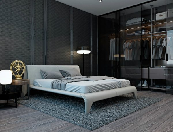wardrobes 10 Good-Looking Examples Of Bedrooms With Attached Wardrobes Feature 26 600x460