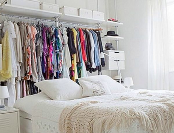 bedroom sets 10 Astute Storage Tips for Bedroom Sets With No Closets Feature 29 600x460