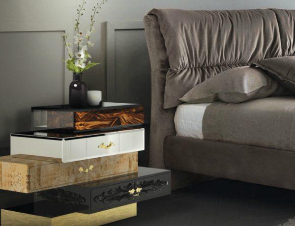 nightstands 5 Splendid Nightstands for Luxury Bedrooms Feature 6 600x460