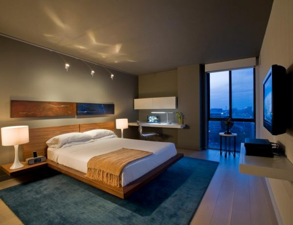 master bedroom Flooring Tips for Master Bedroom DP Andreas Charalambous gray modern bedroom s4x3