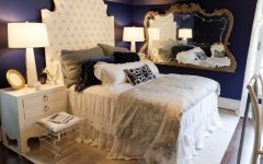 elegant bedrooms Bold and Elegant Bedrooms original atl decorators show house pied a terre bed beauty 4x3