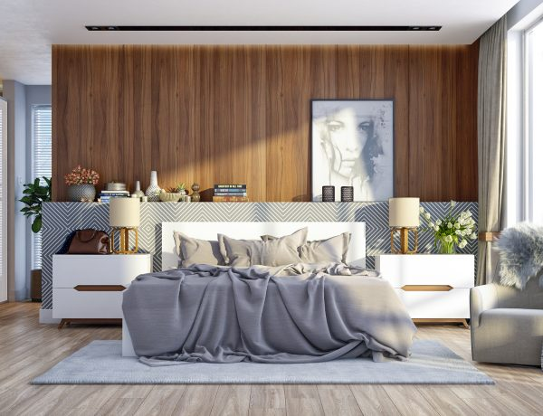 wood walls in the bedroom Design Inspiration – Wood Walls In The Bedroom 1 600x460