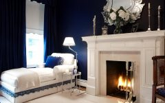 bedroom lighting ideas Amazing Bedroom Lighting Ideas You Will Want To Copy duneier traditional navy bedroom is also a kind of navy blue bedroom furniture 240x150