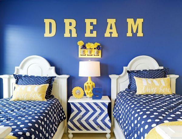 kids' bedrooms Funny Kids' Bedroom Inspiration 2 600x460