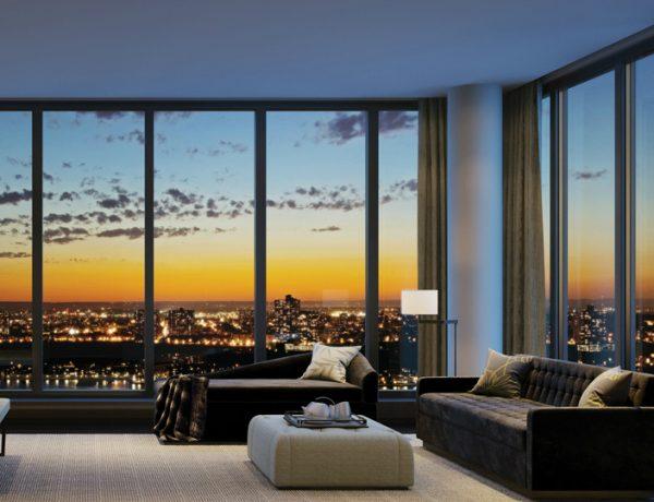 master bedroom 10 Manhattan Master Bedrooms with Stunning Views 6 15 600x460