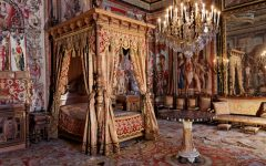 master bedrooms Opulent Master Bedrooms of Famous Palaces Le ch  teau  Fontainebleau 1 240x150
