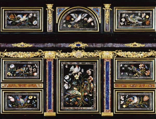 master bedroom 15 Astonishing Cabinets for Lavish Master Bedrooms a german black gilt and red japanned cabinet on stand first half 18th d5936929 001g 1 600x460