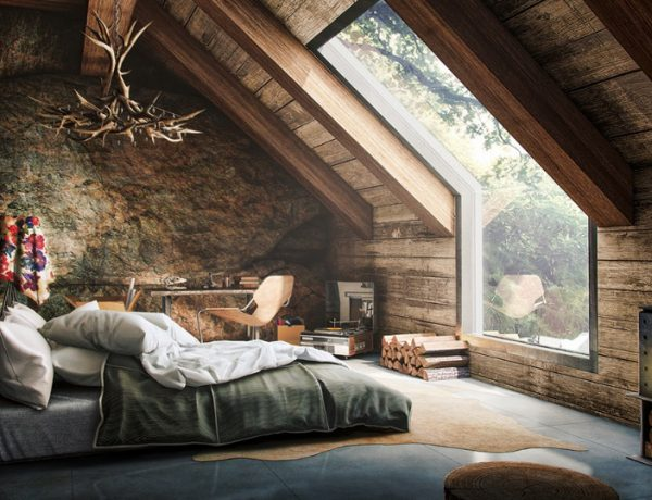 attic bedroom 12 Masterfully Decorated Attic Bedrooms attic bedroom design inspiration ideas 1 600x460