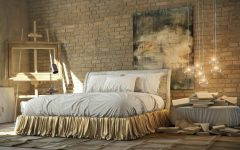 industrial bedroom 10 Phenomenal Industrial Bedroom Designs industrial bedroom design gold tones 240x150