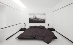 Black and White Bedroom Sleek and Modern Black and White Bedroom Ideas minimalist black and white bedroom furniture 1 240x150