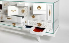 master bedroom Modern Master Bedroom Pieces at Salone del Mobile 2017 Mondrian White Chest Of Drawers Detail Luxury Furniture Modern Design 240x150