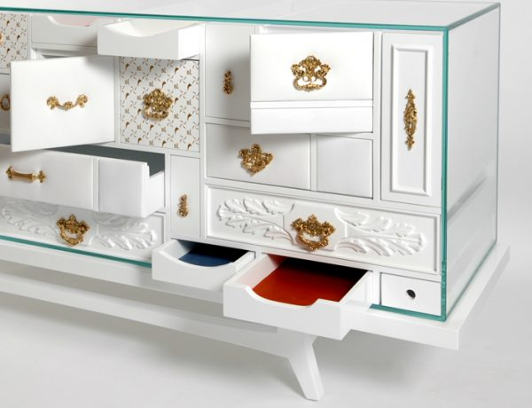 master bedroom Modern Master Bedroom Pieces at Salone del Mobile 2017 Mondrian White Chest Of Drawers Detail Luxury Furniture Modern Design 600x460