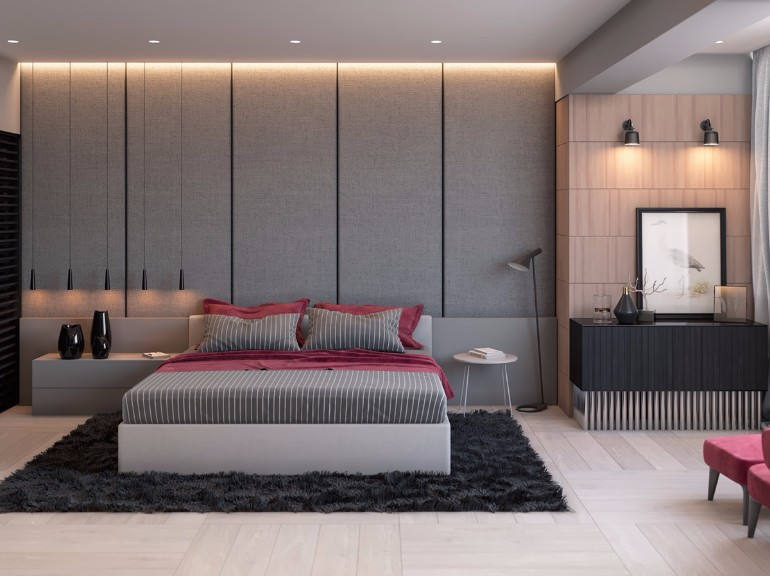 grey small bedroom ideas grey master bedrooms with a glimpse of color master 15507