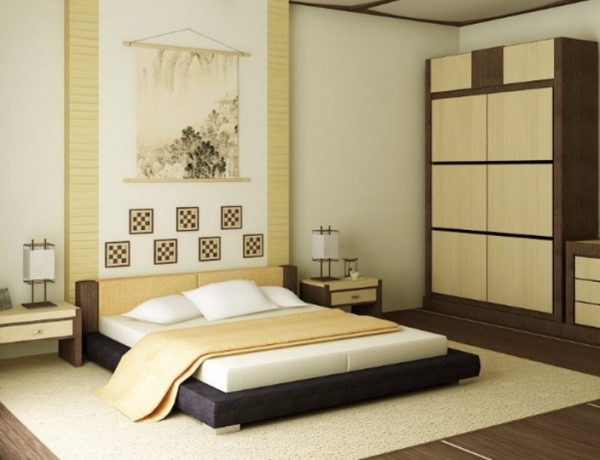 Discover 10 Striking Japanese Bedroom Designs japanese bedroom Discover 10 Striking Japanese Bedroom Designs inspired bedroom inspiration with cream tones and wooden furniture for modern master bedroom design room ideas contemporary japanese design 1 1 600x460