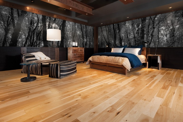 Delightful Master Bedrooms With Hardwood Floors