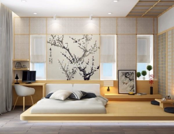 Get inspired by Minimal Bedroom Designs minimal bedroom Get inspired by Minimal Bedroom Designs master bedroom design wood tones light colors for interior decor 1 600x460