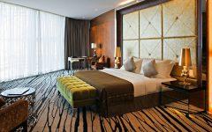 luxury hotel room 10 Sumptuous Luxury Hotel Room Designs InterContinental Los Angeles Century City Royal Suite bedroom inspiration ideas modern bedroom design 1 240x150