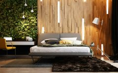 master bedroom Master Bedrooms with Striking Wood Panel Designs beautiful rustic master bedroom wood panels wood walls bedroom inspiration room ideas master bedroom design 1 240x150