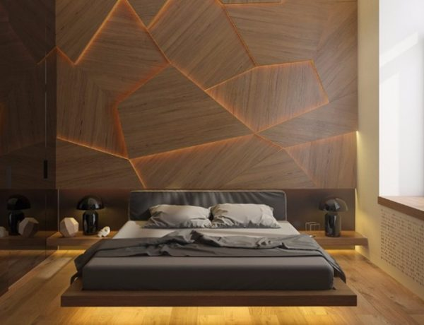 Master Bedrooms with Striking Wood Panel Designs master bedroom Master Bedrooms with Striking Wood Panel Designs bedroom inspiration design ideas with striking wood panels modern master bedroom inspiration side tables ideas modern design 1 600x460