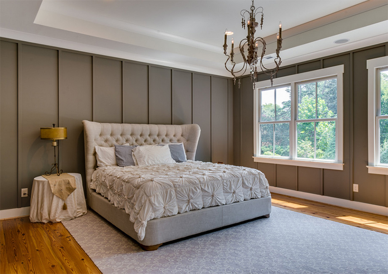 Cozy Bedroom Décor in Farmhouse Style - Master Bedroom Ideas on Master Bedroom Farmhouse Bedroom Images  id=16588