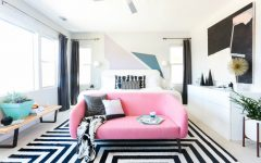 master bedroom Design Project: Modern Master Bedroom by Orlando Soria modern contemporary master bedroom ideas modern bedroom decor design inspiration ideas pink sofa black and white rug bedroom decor 1 240x150