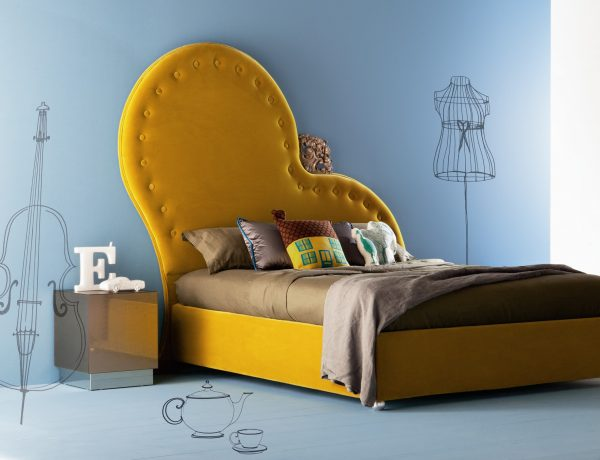 color palette Vivid Color Palettes for your Bedroom yellow bed modern bedroom design ideas contemporary design vivid color pallette master bedroom decor 1 600x460