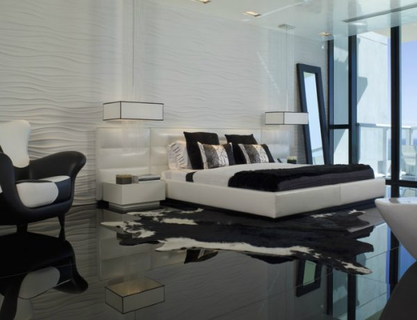 how to decorate your room How To Decorate Your Room In Black And White black white dream master bedroom inspiration ideas how to decorate your room 2 600x460