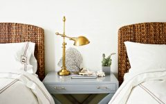 guest bedroom Fresh Summer Inspired Guest Bedrooms gorgeous golden table lamp modern guest bedroom summer trends 2017 bedroom design ideas interior design 1 240x150